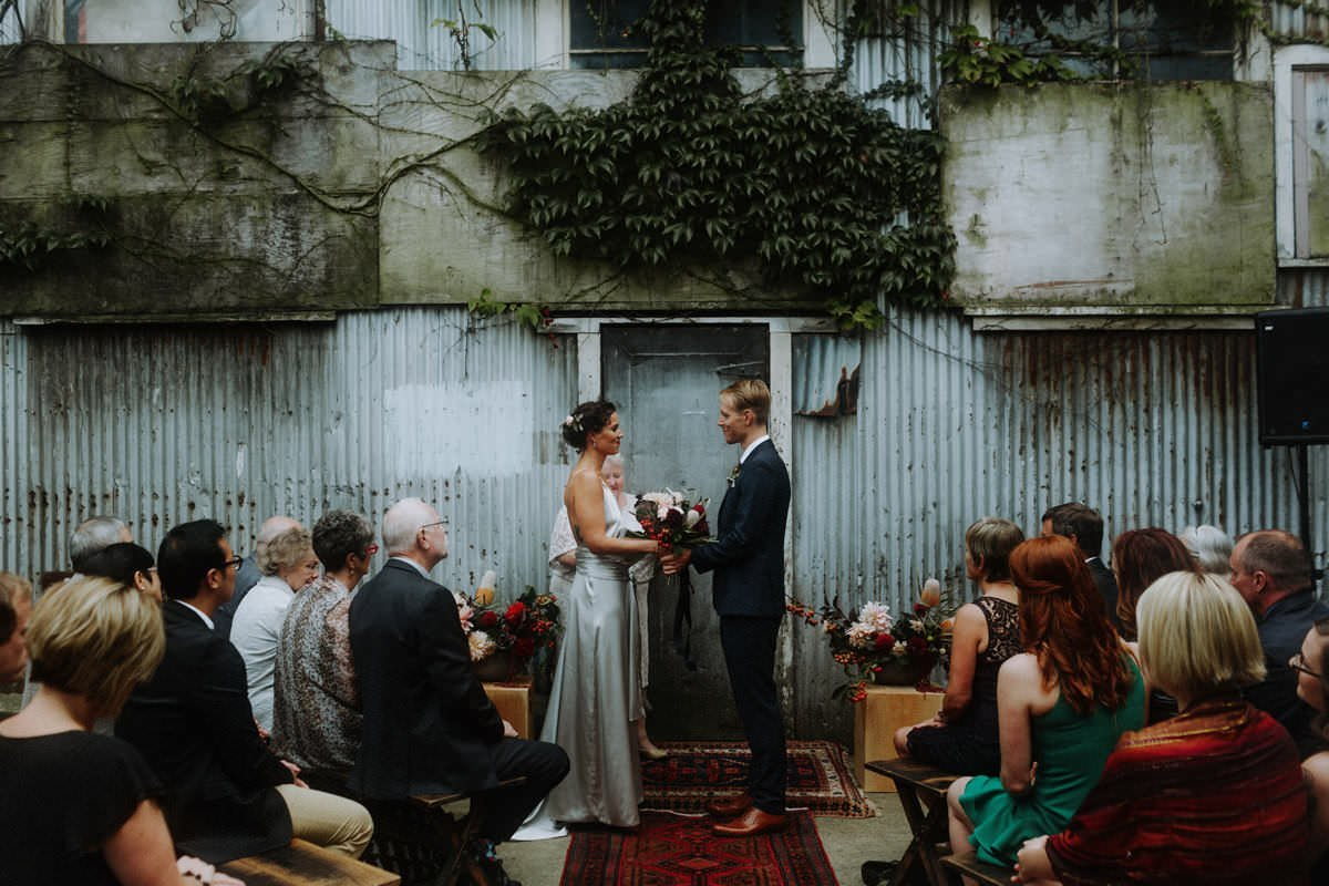 industrial vancouver wedding featuring the ellis building