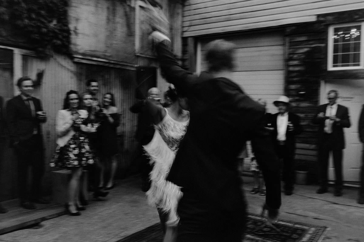motion blur wedding photos
