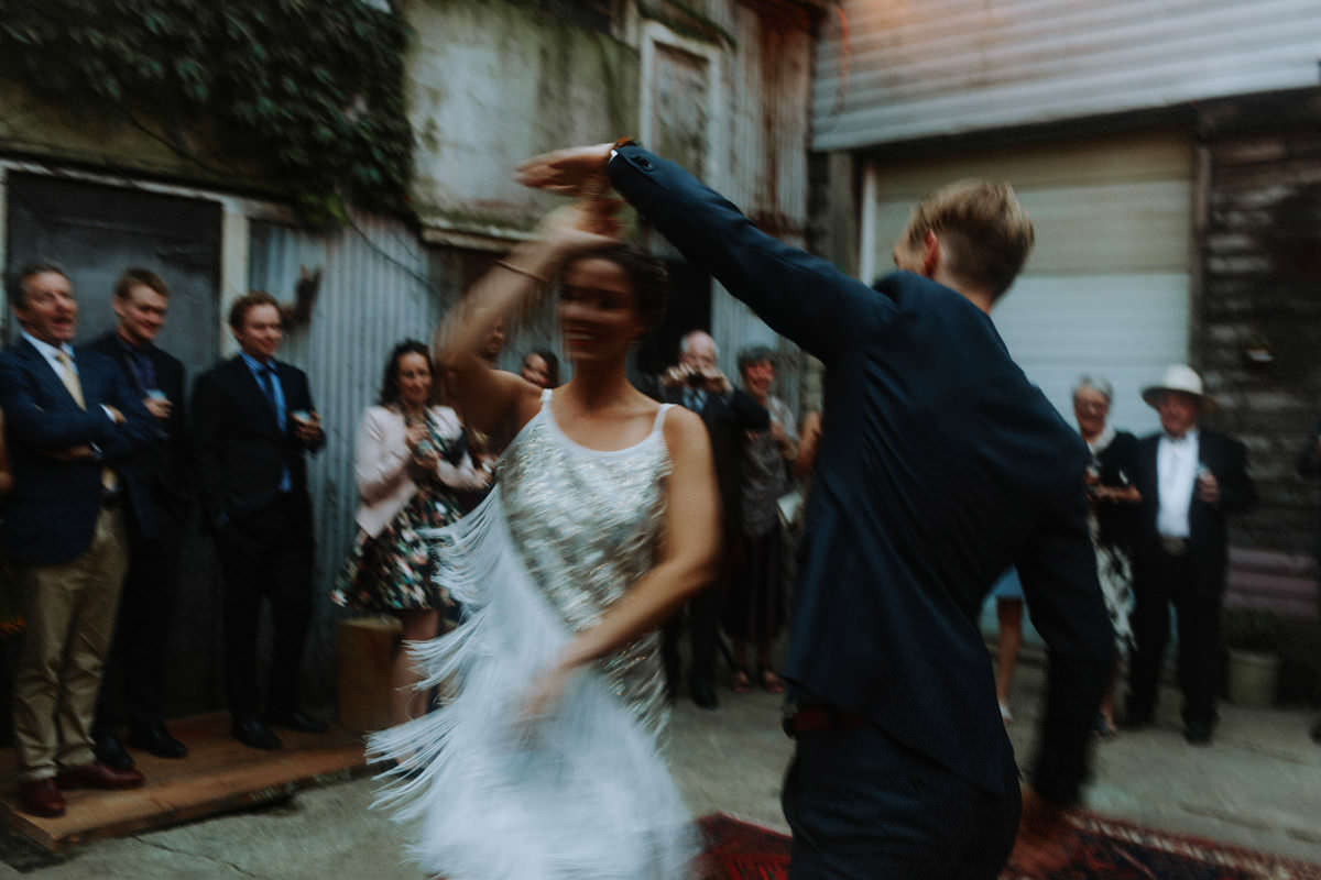 intentional blur weddings