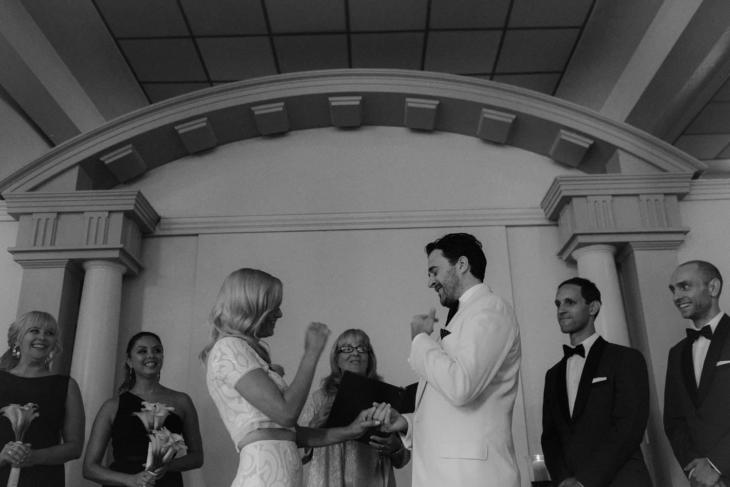 heritage hall wedding photos