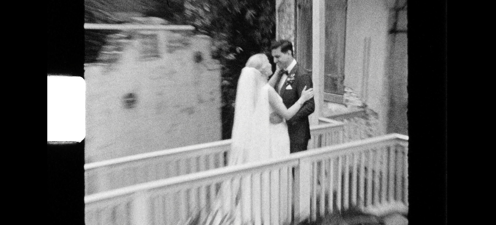 super 8mm race and religious wedding video