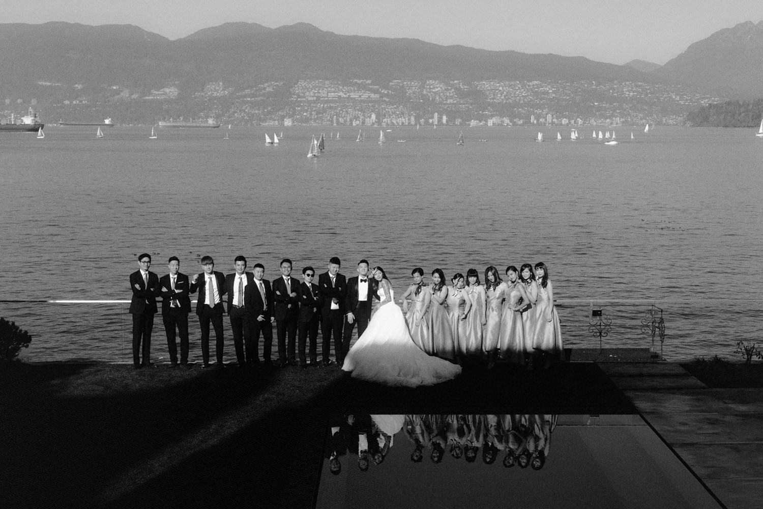Modern Wedding in Vancouver