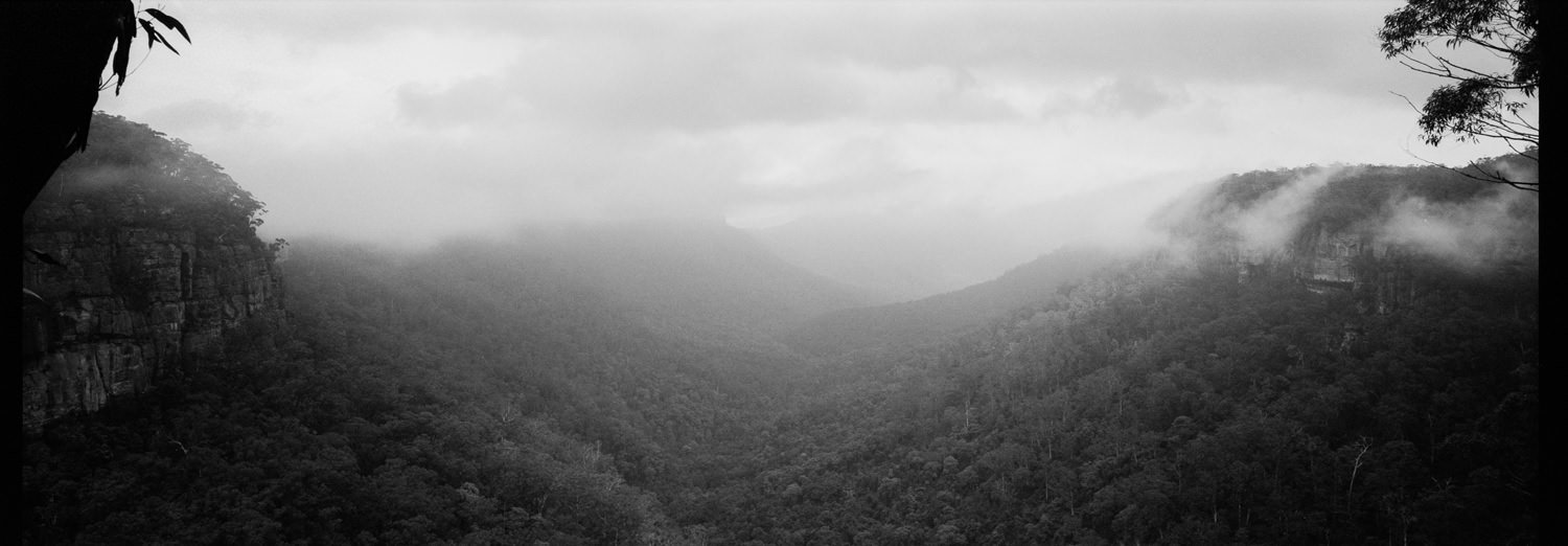kangaroo valley panoramic xpan photo