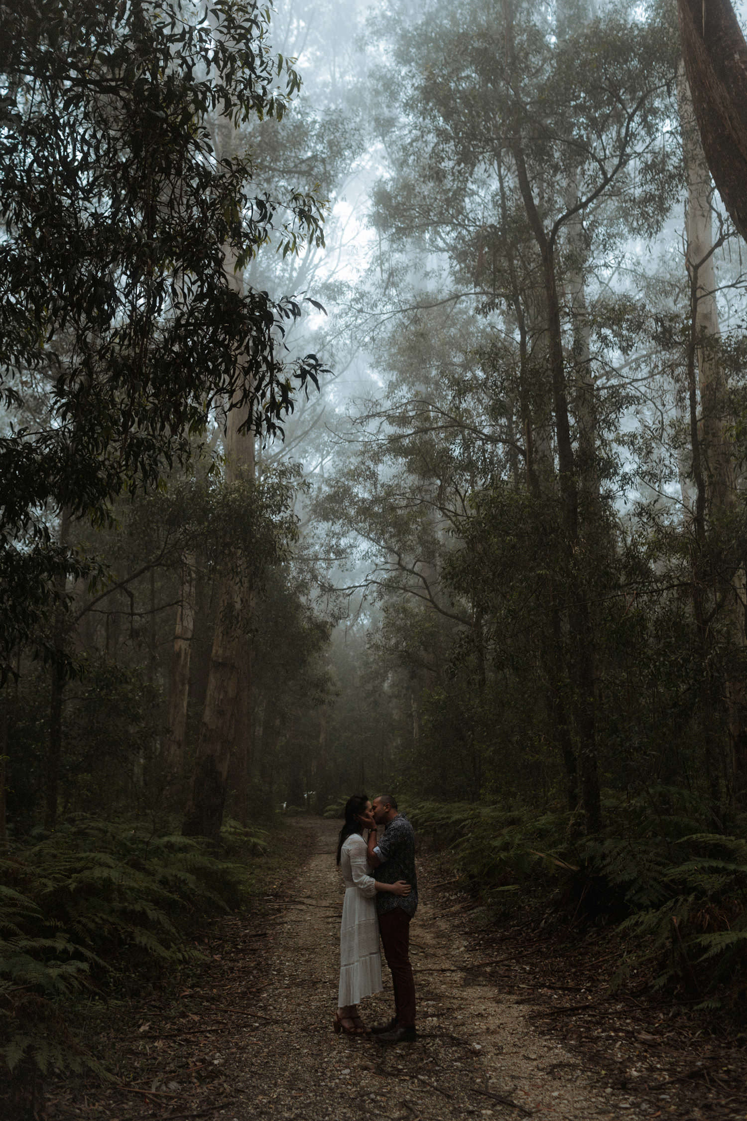 kangaroo valley engagement session