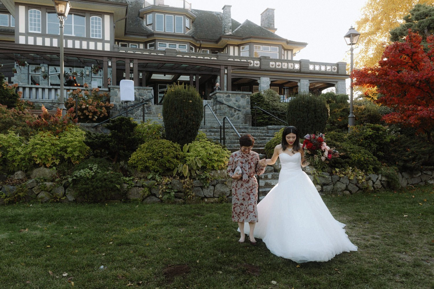 top outdoor vancouver wedding venues featuring cecil green park house at ubc