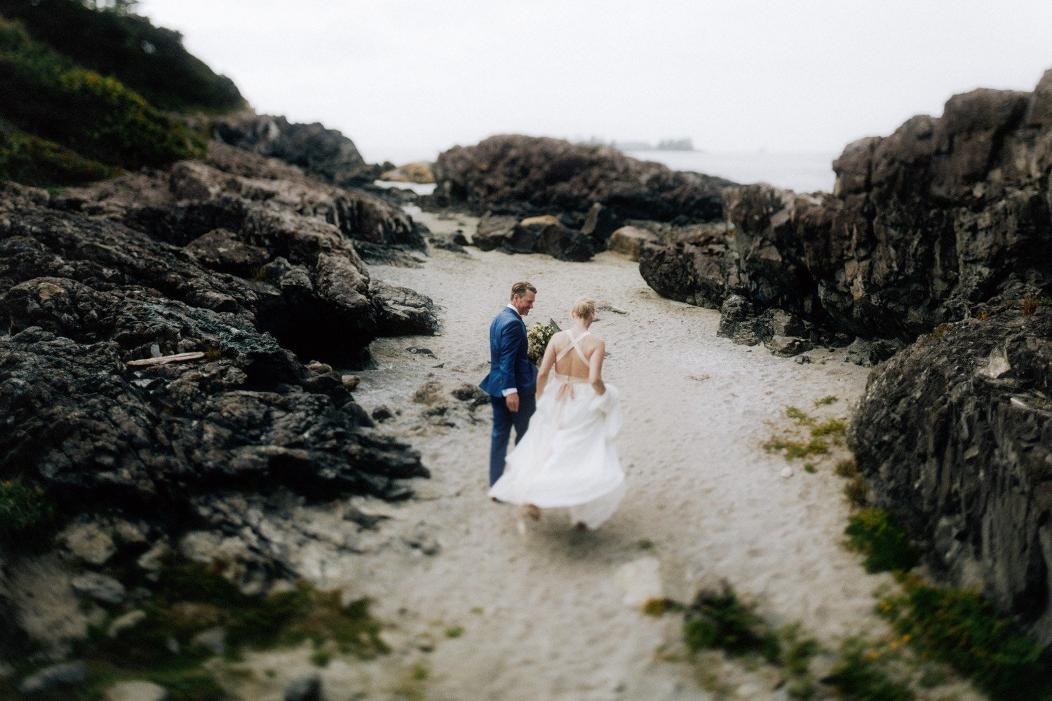 The Shore Pier / Destination Tofino Wedding