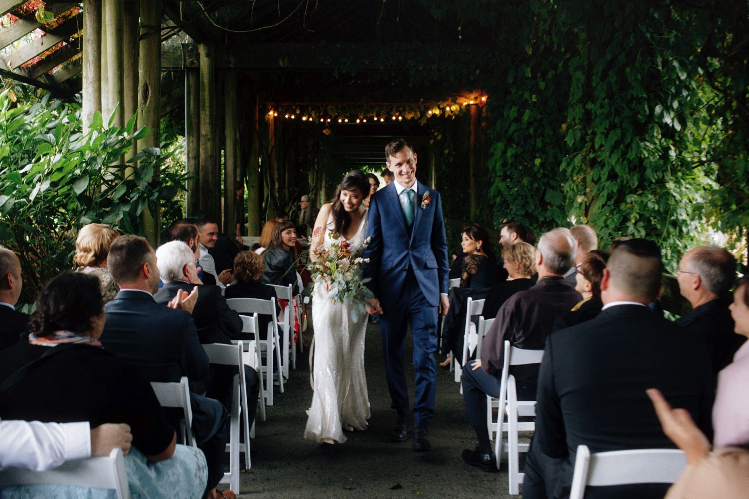 UBC Botanical Garden Wedding