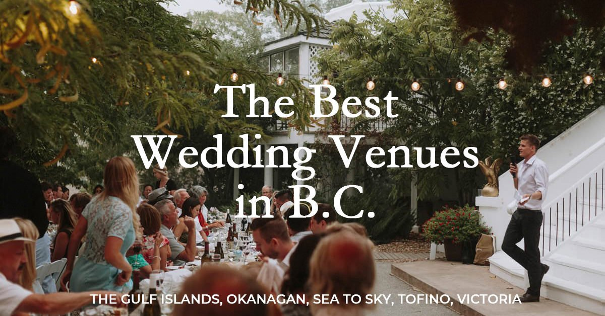 best bc wedding venues, top 25 locations in british columbia to get married