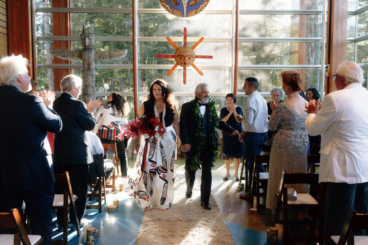 Squamish Lil'wat Cultural Centre SLCC Wedding