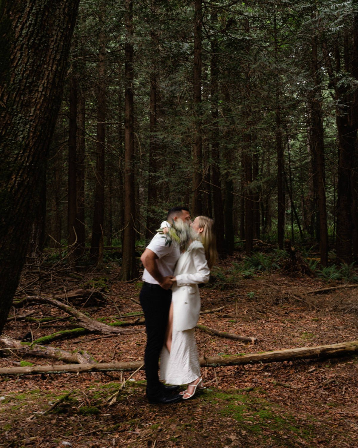 Pacific Spirit Park Elopement